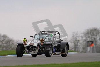 © Octane Photographic Ltd. Motors TV day – Donington Park, Saturday 31st March 2012. Caterham Graduates - Mega and Classic classes. Digital ref : 0267lw7d8017