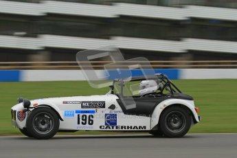 © Octane Photographic Ltd. Motors TV day – Donington Park,  Saturday 31st March 2012. Caterham Graduates - Mega and Classic classes. Digital ref : 0267lw7d8180