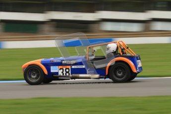 © Octane Photographic Ltd. Motors TV day – Donington Park,  Saturday 31st March 2012. Caterham Graduates - Mega and Classic classes. Digital ref : 0267lw7d8204