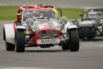 © Octane Photographic Ltd. Motors TV day – Donington Park,  Saturday 31st March 2012. Caterham Graduates – Super and Sigma classes. Digital ref : 0269cb1d0248
