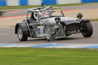 © Octane Photographic Ltd. Motors TV day – Donington Park,  Saturday 31st March 2012. Caterham Graduates – Super and Sigma classes. Digital ref : 0269cb7d6340