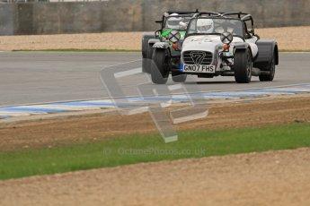 © Octane Photographic Ltd. Motors TV day – Donington Park, Saturday 31st March 2012. Caterham Graduates – Super and Sigma classes. Digital ref : 0269lw7d8683