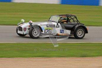 © Octane Photographic Ltd. Motors TV day – Donington Park, Saturday 31st March 2012. Caterham Graduates – Super and Sigma classes. Digital ref : 0269lw7d8854