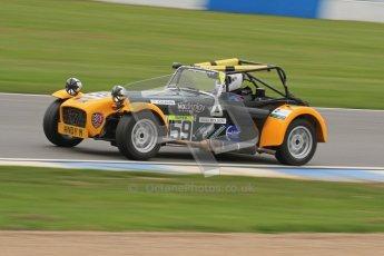 © Octane Photographic Ltd. Motors TV day – Donington Park,  Saturday 31st March 2012. Caterham Graduates – Super and Sigma classes. Digital ref : 0269lw7d8900