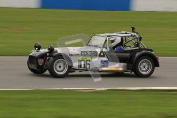 © Octane Photographic Ltd. Motors TV day – Donington Park, Saturday 31st March 2012. Caterham Graduates – Super and Sigma classes. Digital ref : 0269lw7d8995