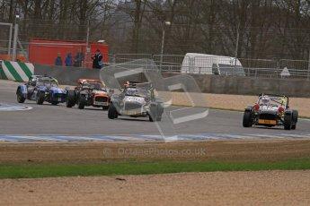 © Octane Photographic Ltd. Motors TV day – Donington Park,  Saturday 31st March 2012. Caterham Graduates – Super and Sigma classes. Digital ref : 0269lw7d9002