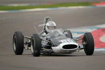 © Octane Photographic Ltd. Motors TV day – Donington Park,  Saturday 31st March 2012. Formula Junior 2nd session, Steve Jones - Cooper T67. Digital ref : 0268cb1d0021