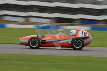 © Octane Photographic Ltd. Motors TV day – Donington Park,  Saturday 31st March 2012. Formula Junior 2nd session, Stephen Bulling - Sadler FJ. Digital ref : 0268lw7d8539