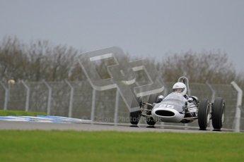 © Octane Photographic Ltd. Motors TV day – Donington Park,  Saturday 31st March 2012. Formula Junior 2nd session, Steve Jones - Cooper T67. Digital ref : 0268lw7d8617