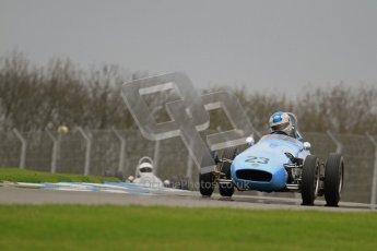 © Octane Photographic Ltd. Motors TV day – Donington Park,  Saturday 31st March 2012. Formula Junior 2nd session, Keith Roach - Condor SII. Digital ref : 0268lw7d8639