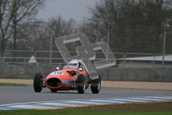 © Octane Photographic Ltd. Motors TV day – Donington Park,  Saturday 31st March 2012. Formula Junior Free practice, Stephen Bulling - Sadler FJ. Digital ref : 0264lw7d6603