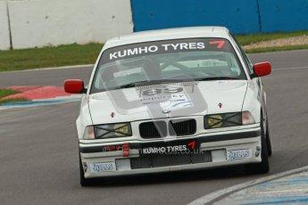 © Octane Photographic Ltd. Motors TV day – Donington Park,  Saturday 31st March 2012. Kumho BMW Championship, Marton Scheile - BMW 318is. Digital ref : 0266cb1d9342