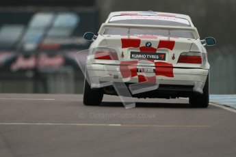 © Octane Photographic Ltd. Motors TV day – Donington Park, Saturday 31st March 2012. Kumho BMW Championship, Garrie Whittaker - BMW E36 M3. Digital ref : 0266cb1d9440