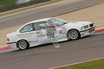 © Octane Photographic Ltd. Motors TV day – Donington Park, Saturday 31st March 2012. Kumho BMW Championship, Martin Schiele - BMW 318is. Digital ref : 0266cb7d6113