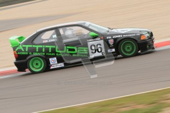 © Octane Photographic Ltd. Motors TV day – Donington Park,  Saturday 31st March 2012. Kumho BMW Championship, Karl Jones - BMW Compact. Digital ref : 0266cb7d6117