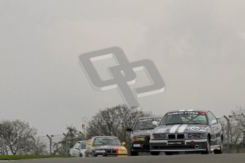 © Octane Photographic Ltd. Motors TV day – Donington Park, Saturday 31st March 2012. Kumho BMW Championship, Phillip Grayson, BMW 318iS Coupe (M44). Digital ref : 0266lw7d7522