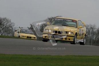 © Octane Photographic Ltd. Motors TV day – Donington Park,  Saturday 31st March 2012. Kumho BMW Championship, Richard Marsh - BMW E36 M3. Digital ref : 0266lw7d7534