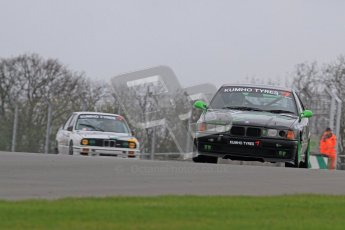 © Octane Photographic Ltd. Motors TV day – Donington Park, Saturday 31st March 2012. Kumho BMW Championship, Karl Jones - BMW Compact. Digital ref : 0266lw7d7544
