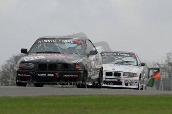 © Octane Photographic Ltd. Motors TV day – Donington Park,  Saturday 31st March 2012. Kumho BMW Championship, Mike Hibbert - BMW E36 318is. Digital ref : 0266lw7d7561
