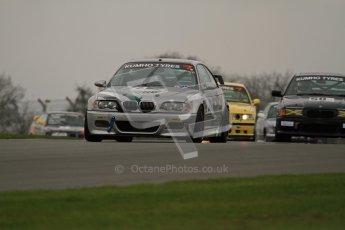 © Octane Photographic Ltd. Motors TV day – Donington Park,  Saturday 31st March 2012. Kumho BMW Championship, James Card - BMW E46 M3. Digital ref : 0266lw7d7586