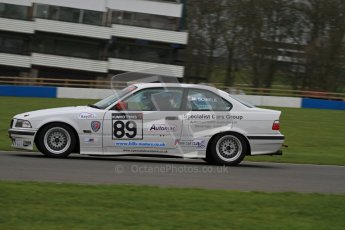 © Octane Photographic Ltd. Motors TV day – Donington Park, Saturday 31st March 2012. Kumho BMW Championship, Matthew Fielding - BMW 318 Coupe. Digital ref : 0266lw7d7696