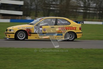 © Octane Photographic Ltd. Motors TV day – Donington Park, Saturday 31st March 2012. Kumho BMW Championship, James Cannon - BMW Compact. Digital ref : 0266lw7d7738