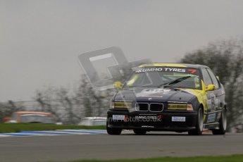 © Octane Photographic Ltd. Motors TV day – Donington Park,  Saturday 31st March 2012. Kumho BMW Championship, James Ford - BMW 318ti. Digital ref : 0266lw7d7785