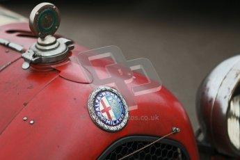 © Octane Photographic Ltd. Motors TV day – Donington Park,  Saturday 31st March 2012. VSCC Pre-War Sportscars, Neil Twyman - Alfa Romeo 8C. Digital ref : 0265cb1d8867