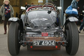 © Octane Photographic Ltd. Motors TV day – Donington Park,  Saturday 31st March 2012. VSCC Pre-War Sportscars, Nigel Batchelor - Bentley 4 1/2 Blower. Digital ref : 0265cb1d8872
