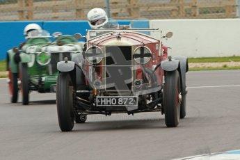 © Octane Photographic Ltd. Motors TV day – Donington Park, Saturday 31st March 2012. VSCC Pre-War Sportscars, Duncan Arthurs - Invicta Sports Tourer. Digital ref : 0265cb1d9102
