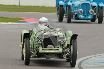© Octane Photographic Ltd. Motors TV day – Donington Park,  Saturday 31st March 2012. VSCC Pre-War Sportscars, David lamb - Riley Brooklands. Digital ref : 0265cb1d9144