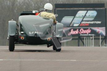 © Octane Photographic Ltd. Motors TV day – Donington Park,  Saturday 31st March 2012. VSCC Pre-War Sportscars. Digital ref : 0265cb1d9165