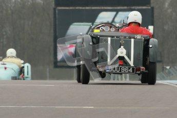 © Octane Photographic Ltd. Motors TV day – Donington Park,  Saturday 31st March 2012. VSCC Pre-War Sportscars. Digital ref : 0265cb1d9181