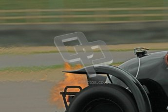© Octane Photographic Ltd. Motors TV day – Donington Park, Saturday 31st March 2012. VSCC Pre-War Sportscars, Nigel Batchelor - Bentley 4 1/2 Blower. Digital ref : 0265cb1d9307