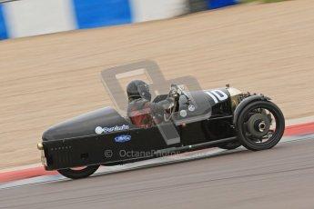 © Octane Photographic Ltd. Motors TV day – Donington Park,  Saturday 31st March 2012. VSCC Pre-War Sportscars, Sue Derbyshire - Morgan Super Aero. Digital ref : 0265cb7d5712
