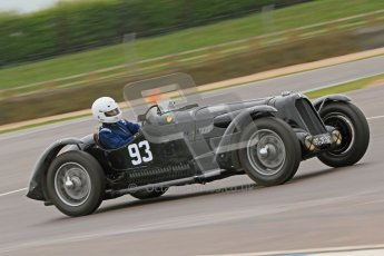 © Octane Photographic Ltd. Motors TV day – Donington Park,  Saturday 31st March 2012. VSCC Pre-War Sportscars, Marcus Black - Talbot Lago T23. Digital ref : 0265cb7d5757