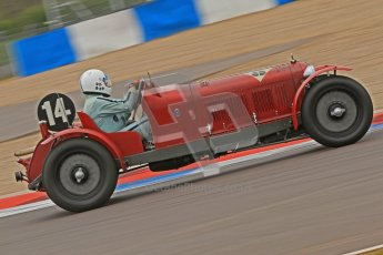 © Octane Photographic Ltd. Motors TV day – Donington Park, Saturday 31st March 2012. VSCC Pre-War Sportscars, Neil Twyman - Alfa Romeo 8C. Digital ref : 0265cb7d5765