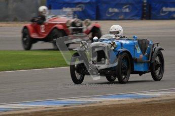 © Octane Photographic Ltd. Motors TV day – Donington Park, Saturday 31st March 2012. VSCC Pre-War Sportscars, John Everett - Austin 7 Sports Ulster. Digital ref : 0265lw7d7103