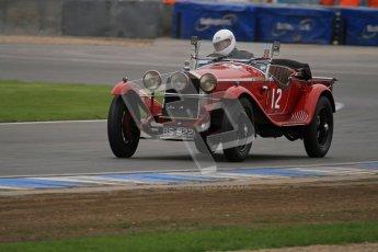 © Octane Photographic Ltd. Motors TV day – Donington Park, Saturday 31st March 2012. VSCC Pre-War Sportscars, Roger Buxton - Alfa Romeo 6C Zagato Spyder. Digital ref : 0265lw7d7186