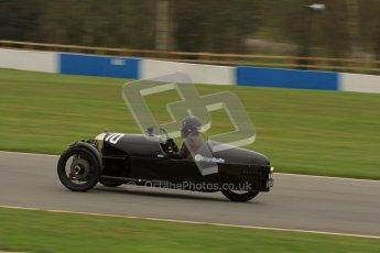 © Octane Photographic Ltd. Motors TV day – Donington Park, Saturday 31st March 2012. VSCC Pre-War Sportscars, Sue Derbyshire - Morgan Super Aero. Digital ref : 0265lw7d7238