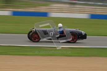 © Octane Photographic Ltd. Motors TV day – Donington Park, Saturday 31st March 2012. VSCC Pre-War Sportscars, Ian Standing - Riley Brooklands. Digital ref : 0265lw7d7259
