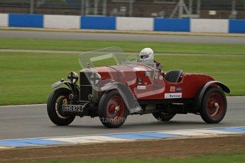 © Octane Photographic Ltd. Motors TV day – Donington Park,  Saturday 31st March 2012. VSCC Pre-War Sportscars, Duncan Arthurs - Invicta Sports Tourer. Digital ref : 0265lw7d7403