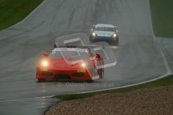 © Octane Photographic Ltd. MSVR - Donington Park, 29th April 2012 - GT Cup. Peter Rowbottom, Ferrari 430 Spyder. Digital ref : 0312lw1d6501