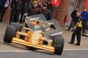 © Octane Photographic 2012. MSVR Media Day. Lotus 101 - Steve Griffith. Digital Ref : 0222lw7d4381