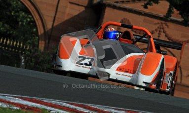 © Carl Jones/Octane Photographic Ltd. OSS Championship – Oulton Park. Saturday 1st September 2012. Qualifying. Simon Tilling, Radical SR3. Digital Ref : 0489cj7d0700