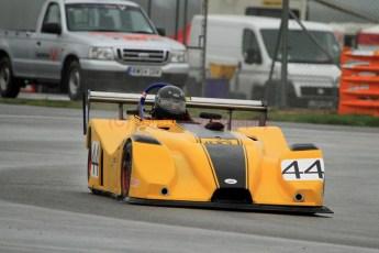 © Jones Photography. OSS Championship Round 1, Snetterton, 28th April 2012. Tim Covill, Mallock 31 Hayabsa. Digital Ref: 0390CJ7D9861