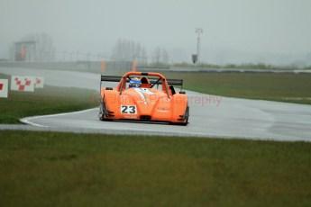 © Jones Photography. OSS Championship Round 1, Snetterton, 28th April 2012. Simon Tilling, Radical SR3. Digital Ref: 0390CJ7D9891