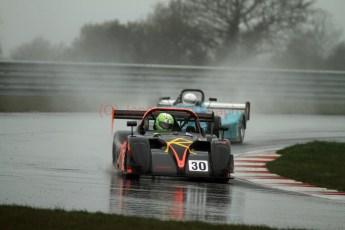 © Jones Photography. OSS Championship Round 1, Snetterton, 29th April 2012. Darcy Smith, Radical SR4. Digital Ref: 0390CJ7D0862