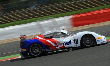 © Carl Jones/Octane Photographic Ltd. OSS Championship – Silverstone. Saturday 28th July 2012. Darren Nelson, Chevron GR8