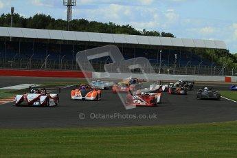© Carl Jones/Octane Photographic Ltd. OSS Championship – Silverstone. Saturday 28th July 2012. The Start